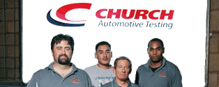 Church Automotive Testing